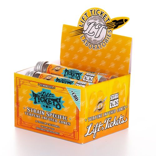 Lemon Fuel Pre-Rolled Infused Terpene Cone with CBD by Lift Tickets 710
