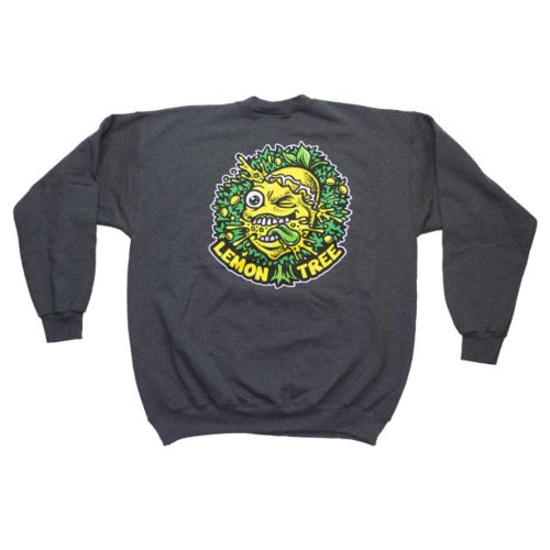 Lemon Life Original Dripping Tree Crewneck - Charcoal Grey by Lemon Life SC