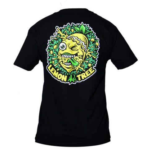 The Lemon Dripping Tree T-Shirt - Black by Lemon Life SC