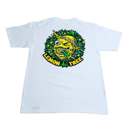 The Lemon Tree Dripping Tree T-Shirt - White by Lemon Life SC