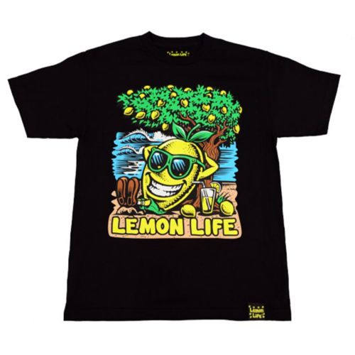 The Lemon Life Beach T-Shirt - Black by Lemon Life SC