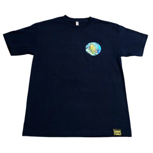 The Surfing Lemon T-Shirt - Navy by Lemon Life SC