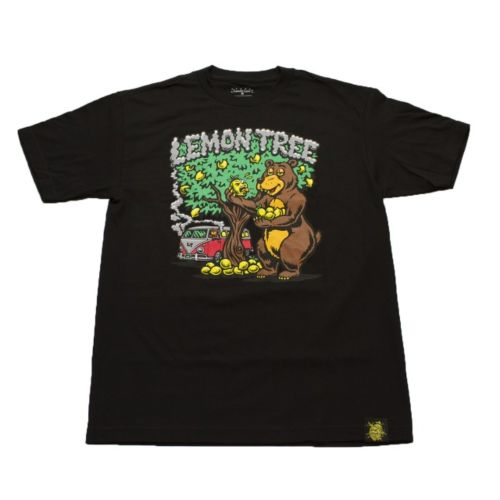 Lemon Bear T-shirt Black by Lemon Life SC
