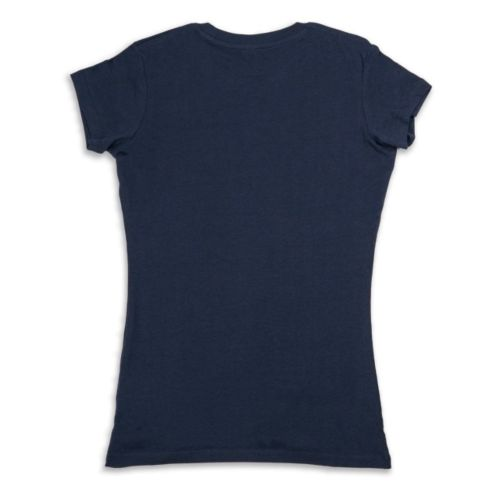 The Surfing Lemon Women's T-shirt - Navy by Lemon Life SC