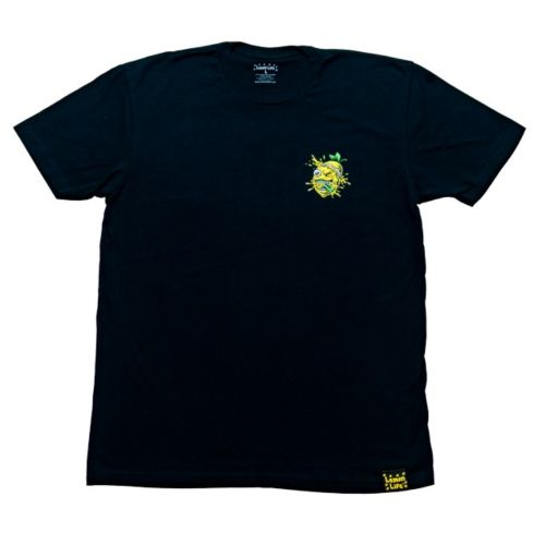 Lemon Tree Minimal Splat Super Soft T-Shirt - Black by Lemon Life SC