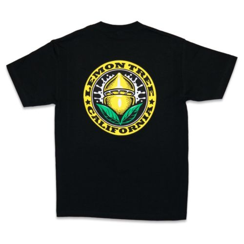 Lemon Tree California Seal Black T-Shirt by Lemon Tree SC