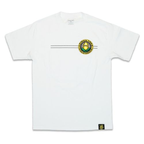 Lemon Tree California Seal White T-Shirt by Lemon Tree SC