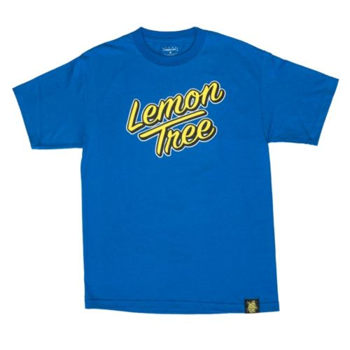 Lemon Tree Sunset T-Shirt by Lemon Life SC - Blue