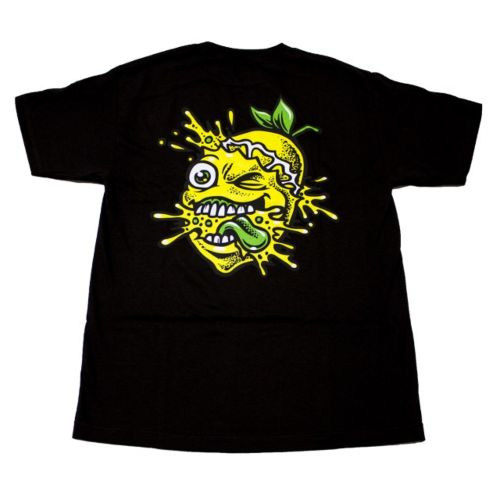 Lemon Tree Colour Splat T-Shirt - Black by Lemon Life SC