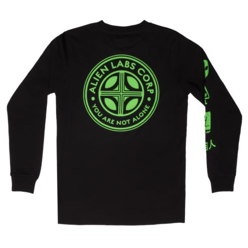 The Corps Long Sleeve T-Shirt by Alien Labs – Black