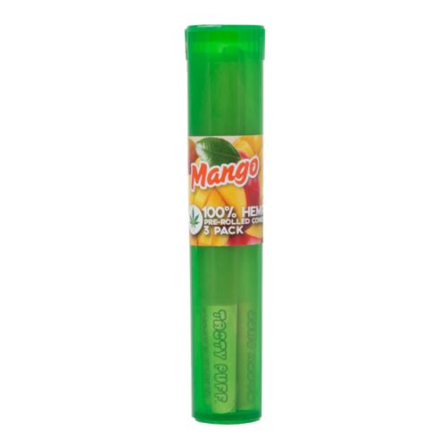 Mango Flavoured Pre-Rolled Cones By Tasty Puffs