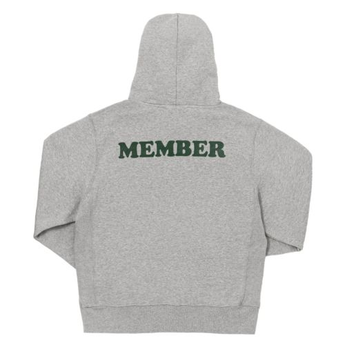 Member Oversized Hoodie by The Smoker's Club - Grey
