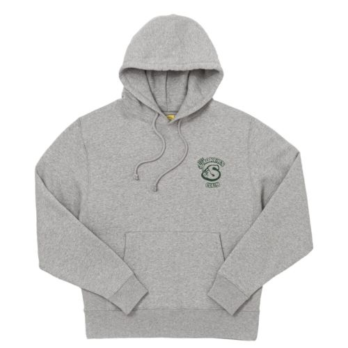 Member Oversized Hoodie by The Smokers Club - Grey