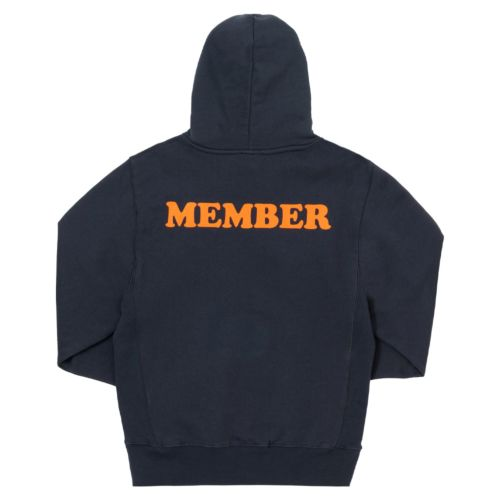 Member Oversized Hoodie by The Smokers Club - Navy