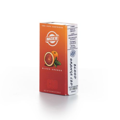 Blood Orange - CBD Vape Cartridge Pod System by Moxie