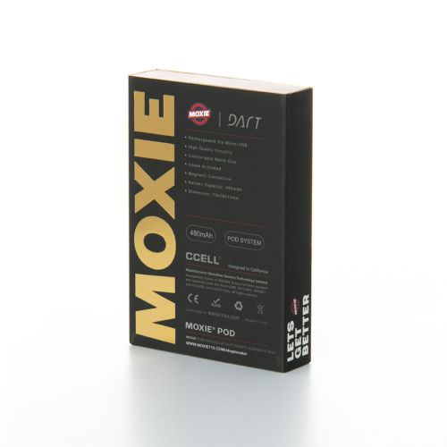 Moxie Dart - 480mAh Battery (Gold) - Dart Pod Vaporizer Unit