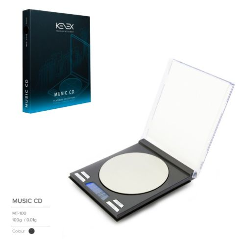 Music CD Digital Precision Scales (Platinum Collection) by Kenex