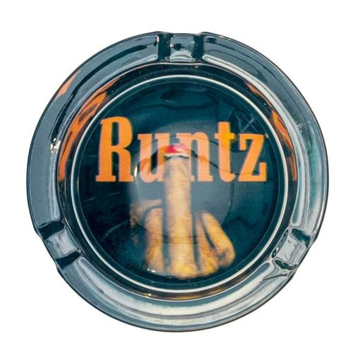 No You Can't Glass Ashtray By Runtz