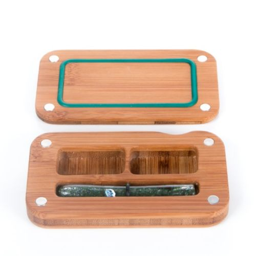 Nug Out Glass Tray by Kindtray - Discontinued