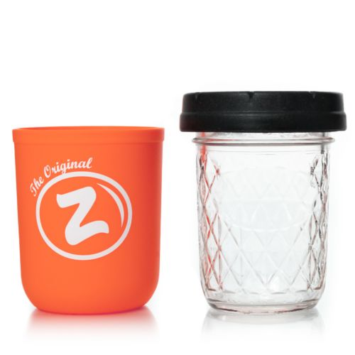 Orange Zkittlez 8oz Mason Stash Jar by RE:STASH