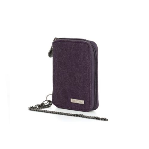 Hemp Wallet with Chain by Sativa Bags