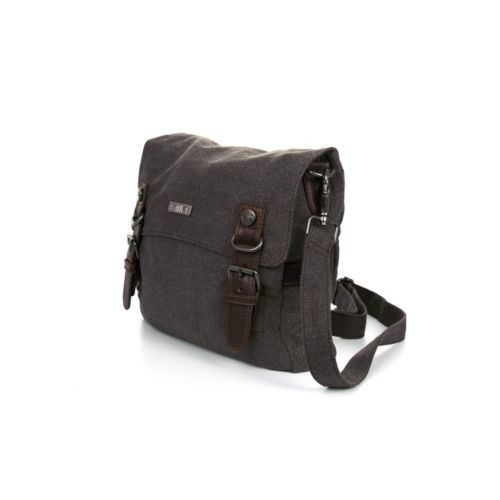 Hemp Medium Tank Bag with Buckles by Sativa Bags