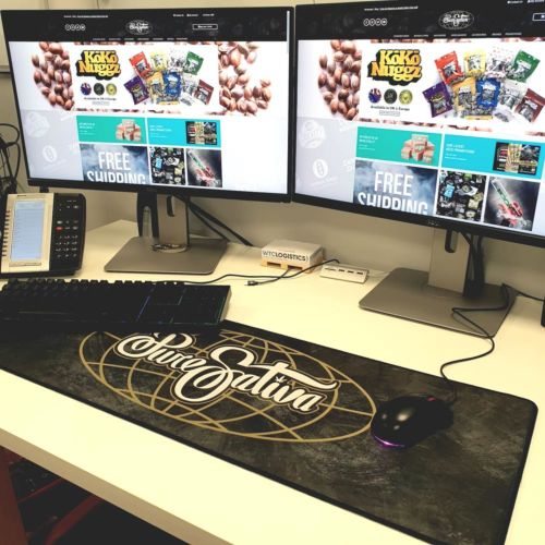 Large Mouse / Display Mat by PureSativa