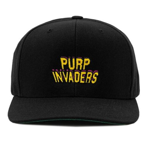 Purp Invaders SnapBack Cap by The Smoker's Club