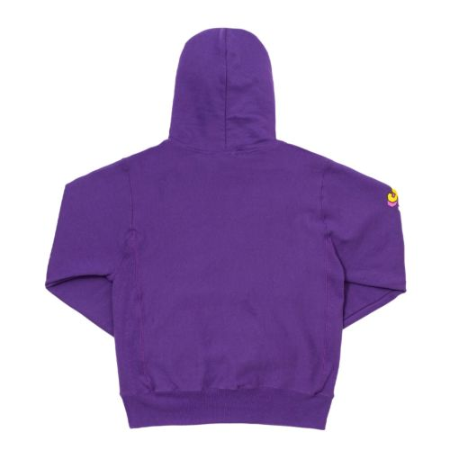 Purple Invaders Core Hoodie by The Smokers Club - Purple