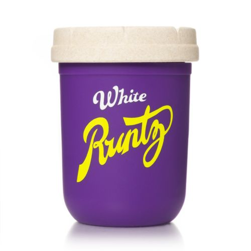 Purple & Yellow 8oz Runtz Mason Stash Jar by RE:STASH