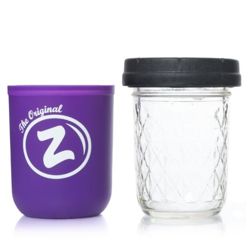 Purple Zkittlez 8oz Mason Stash Jar by RE:STASH