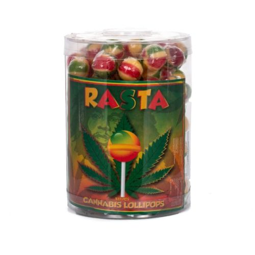 Cannabis Lollipops - Rasta by Dr. Greenlove Amsterdam