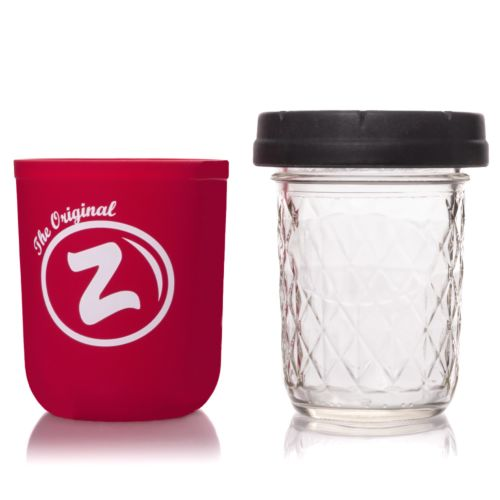 Red Zkittlez 8oz Mason Stash Jar by RE:STASH