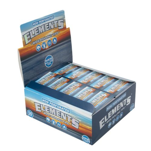 Non Perforated Wide Rolling Tips by Elements