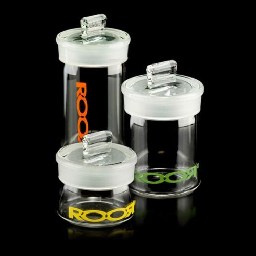 Roor Glass Air Tight Stash Holders
