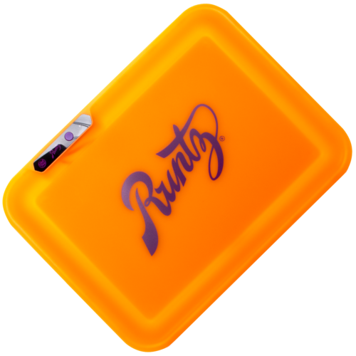 Glow Tray x Runtz (Orange) LED Rolling Tray by Glow Tray