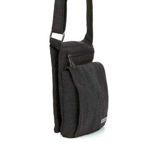 Travel Shoulder Bag by Sativa Hemp Bags