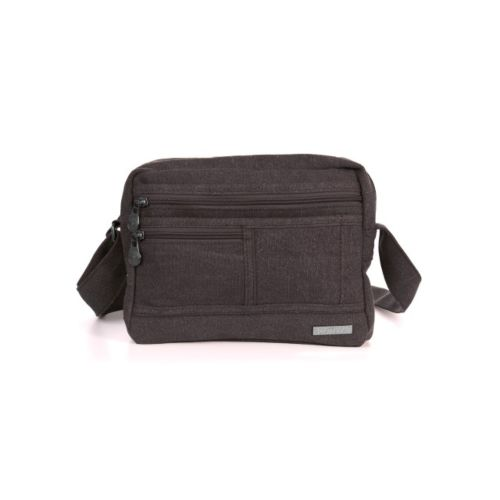 Hemp Smart Shoulder Bag by Sativa Bags