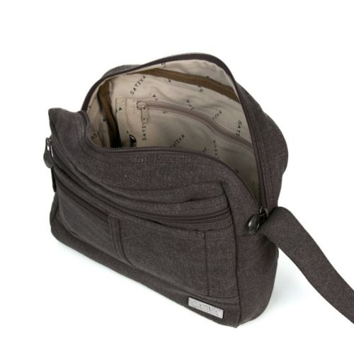 Medium Satchel Shoulder Bag by Sativa Hemp Bags