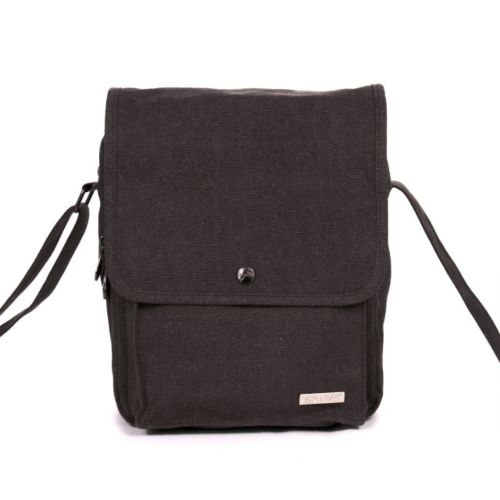 Medium Messenger Shoulder Bag by Sativa Hemp Bags