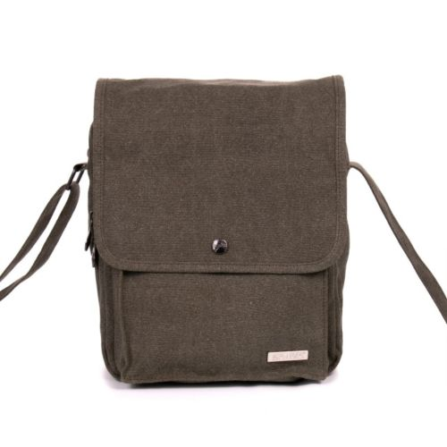 Hemp Medium Messenger Shoulder Bag by Sativa Bags