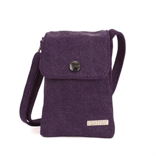 Hemp Tiny Shoulder Bag by Sativa Bags