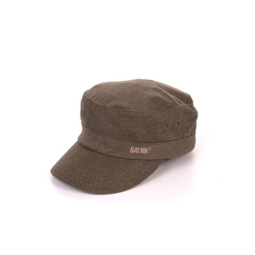 Military Hat with Strapback by Sativa Hemp Bags