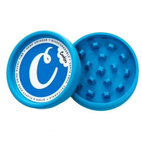 Santa Cruz Shredder Hemp Grinder (Cookies Blue x1)