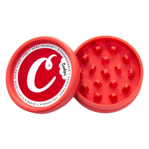 Santa Cruz Shredder Hemp Grinder (Cookies Red x1)