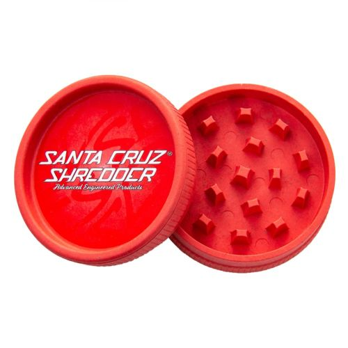 Santa Cruz Shredder Hemp Grinder (Red x1)