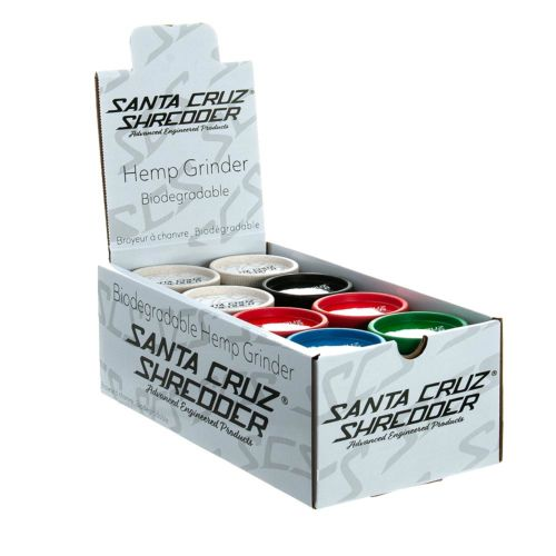 Santa Cruz Shredder All Hemp Grinders - 2 Pieces (Mixed x24)