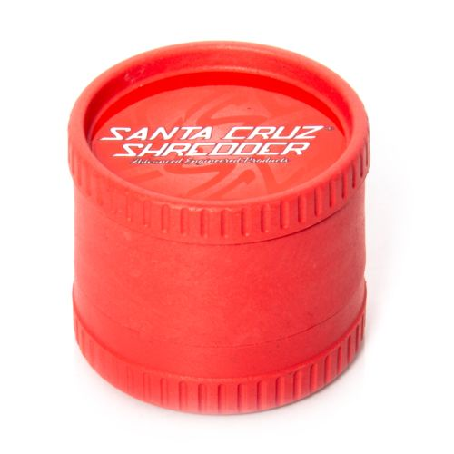 Santa Cruz Shredder Hemp Grinder - 3 Piece (Red x1)