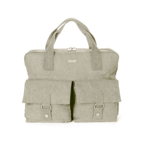 Hemp Large City Messenger Bag (Clearance Style) by Sativa Bags