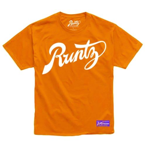 Script T-Shirt By Runtz - Orange